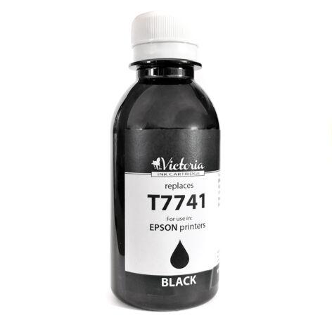 T77414A fekete festékpatron   töltőtinta, utángyártott, VI