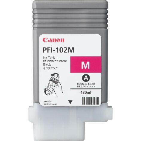 PFI-102M PFI102M magenta festékpatron - eredeti