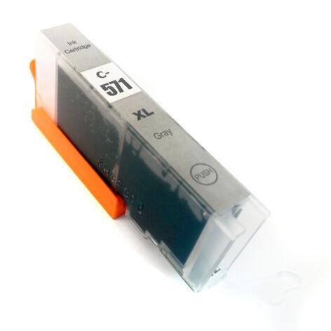 CLI-571XL CLI571XL GY szürke (gray) festékpatron - utángyártott MG7750 MG7751 MG7752 MG7753