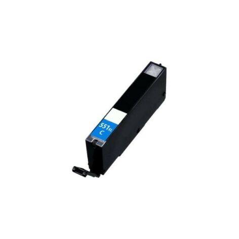 CLI-551XL C CLI-551C XL nagykapacitású (12ml!) +chip utángyártott QP bulk patron IP7250/MG5450/MG555
