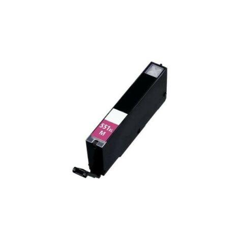 CLI-551XL M CLI-551M XLnagykapacitású (12ml!) +chip utángyártott QP bulk patron IP7250/MG5450/MG5550