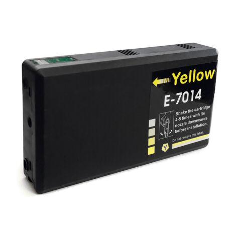T7014 sárga festékpatron, utángyártott, QP