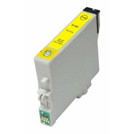 T0484 yellow festékpatron, utángyártott, EZ