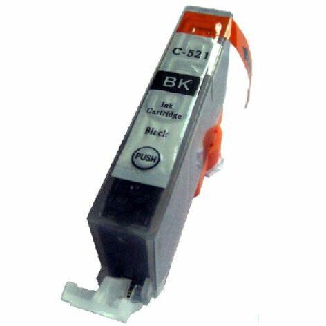 CLI-521Bk utángyártott chipes festékpatron - WB iP3600 iP4600 ip4700 MP540 MP550 MP560 MP620 MP630