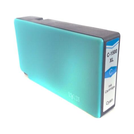 PGI-1500XL PGI1500XL C cyan utángyártott chipes festékpatron 9193B001 Maxify MB2050 MB2150 MB2350