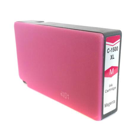 PGI-1500XL PGI1500XL M magenta utángyártott chipes festékpatron 9194B001 Maxify MB2050 MB2150 MB2350