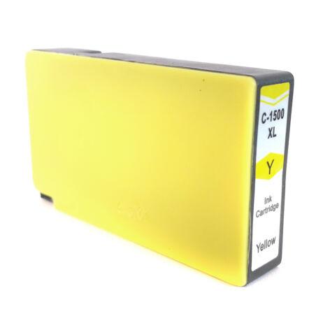 PGI-1500XL PGI1500XL Y yellow utángyártott chipes festékpatron 9195B001 Maxify MB2050 MB2150 MB2350