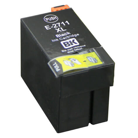T2711 - 27XL fekete festékpatron -utángyártott Wokforce 3620DWF 3640DTWF 7110DTW 7610DWF 7620DTWF