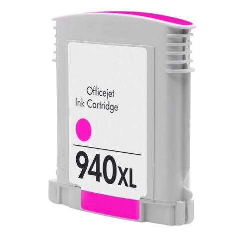 940XL (C4908A) magenta chipes patron - utángyártott EZ, kb. 1600 oldalhoz