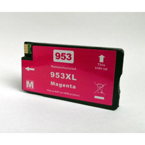 953XL F6U17AE M magenta utángyártott festékpatron PQ OfficeJet Pro 8210 8710eAiO 8720eAiO 8730eAiO