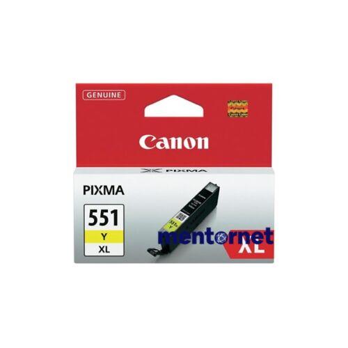 Canon CLI-551 sárga XL tintapatron
