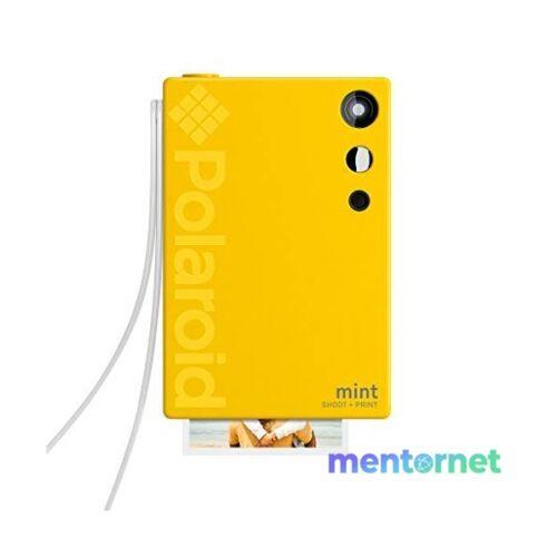Polaroid Mint P-POLSP02Y sárga instant fényképezőgép és fotónyomtató