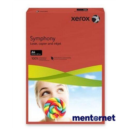 Xerox Symphony A4 160g intenzív vörös másolópapír