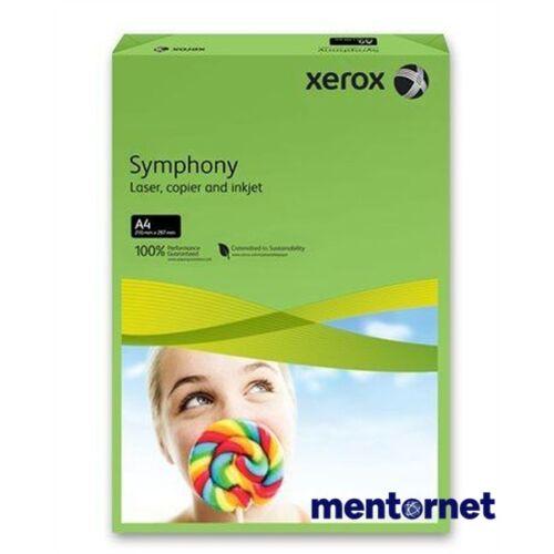 Xerox Symphony A4 160g intenzív zöld másolópapír