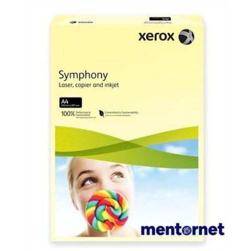 Xerox Symphony A4 160g pastel citrom másolópapír