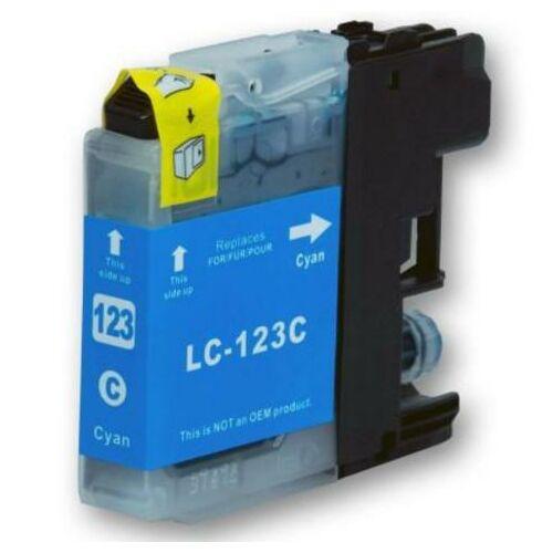LC123C cyan utángyártott festékpatron, QP