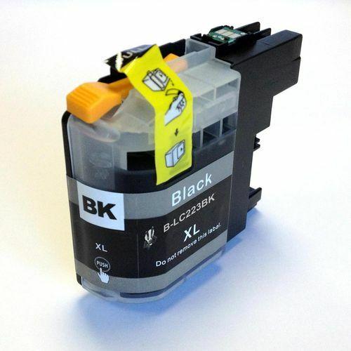 LC223 Bk fekete festékpatron, utángyártott, PQ