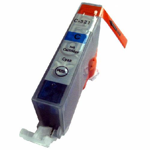 CLI-521C utángyártott chipes festékpatron - QP iP3600 iP4600 ip4700 MP540 MP550 MP560 MP620 MP630