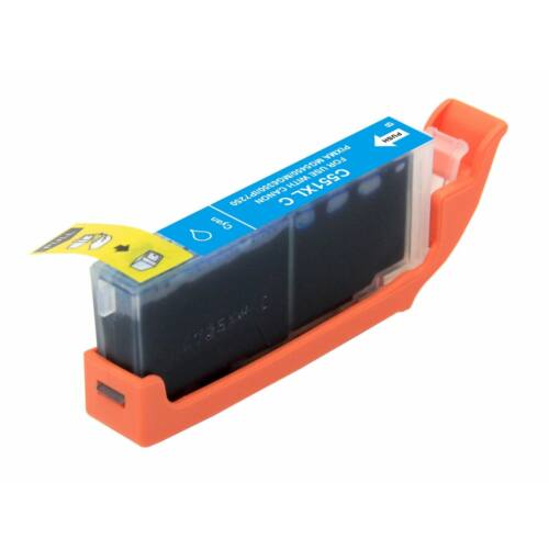 CLI-551XL C CLI-551C XL nagykapacitású +chip utángyártott NN patron IP7250/MG5450/MG5550/MG6