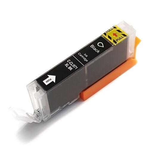 CLI-571XL CLI571XL Bk fekete festékpatron - utángyártott WB MG5750 MG5751 MG5752 MG5753 MG6850 MG77