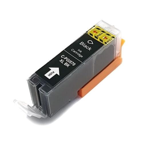 PGI-570XL PGI570XL Bk fekete festékpatron - utángyártott WB MG5750 MG5751 MG5752 MG5753 MG6850 MG775