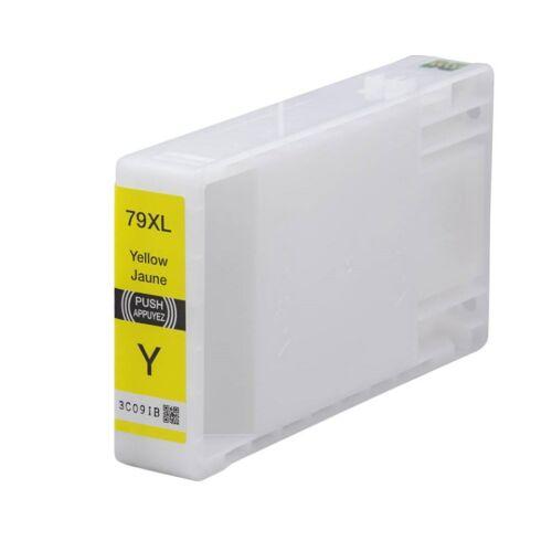 79XL (T7904) sárga festékpatron, utángyártott, EZ (C13T79044010)