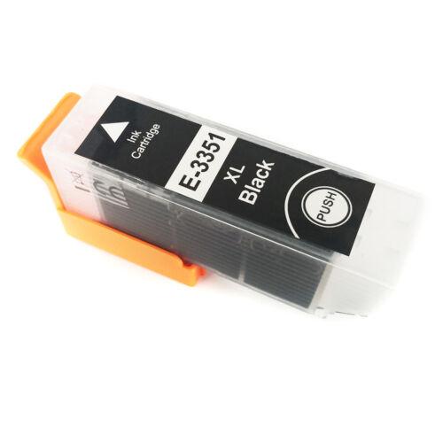 T3351 33XL black festékpatron 22ml!! - utángyártott PQ XP-530 XP-630 XP-635 XP-830