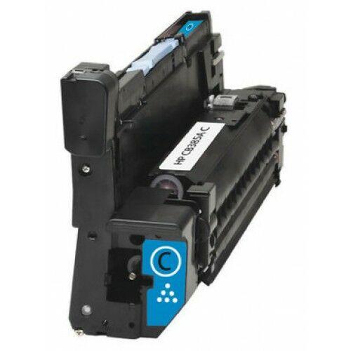 824A (CB385A) cyan dobegység, utángyártott, 35.0k, LaserJet CP6015, CP6030, CP6040