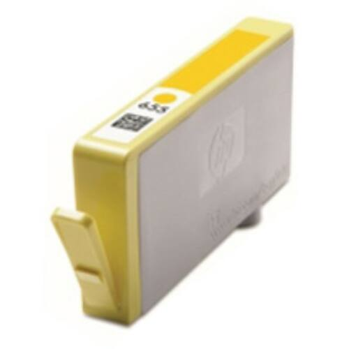 655 yellow CZ112AE festékpatron - utángyártott EZ Deskjet Ink Advantage 3520, 3525, 4610, 4615, 4620