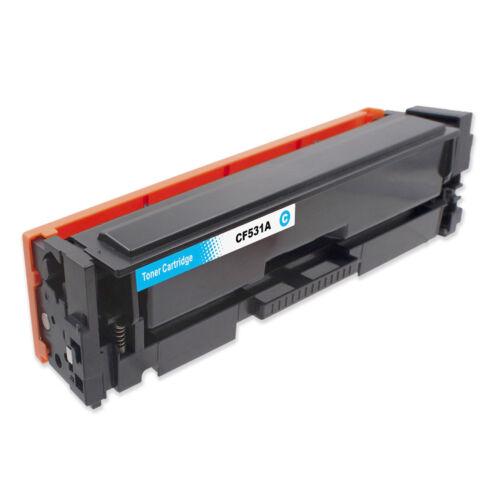 205A (CF531A) cyan toner, utángyártott, chipes, QP/NN, 900 oldal, LaserJet Pro MFP M180n, M181fw