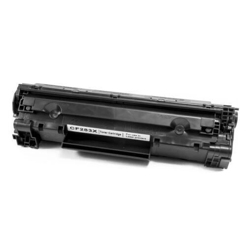 83X (CF283X) | Canon CRG-737 toner, utángyártott, 2.4k, chipes, DT, M201, M225, MF212, MF216, MF217