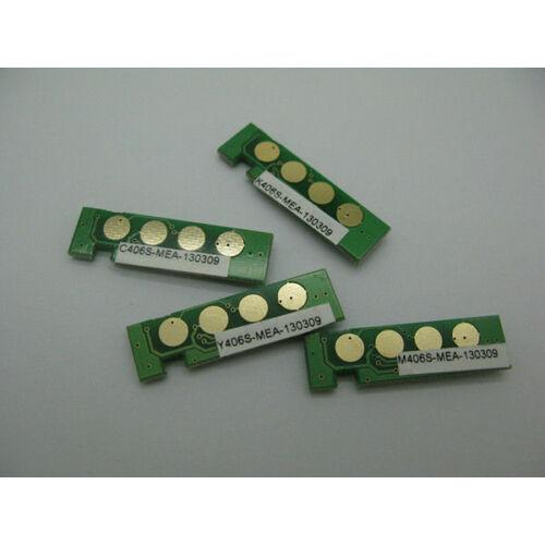 CLT-C406S cyan chip a töltéshez CLP-360 CLP-365W CLX-3305 SL-C410W SL-C460FW