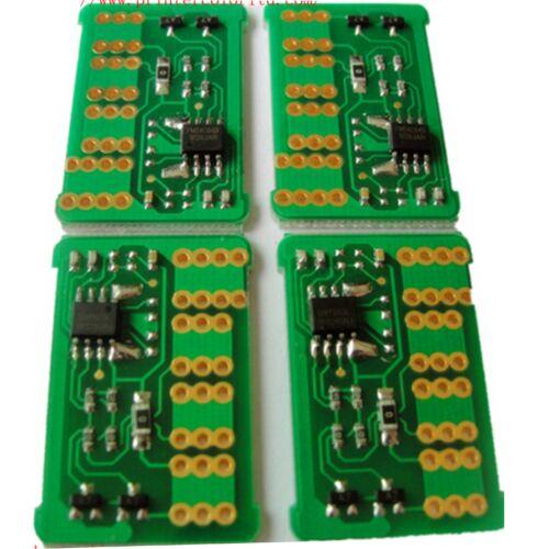 CLX-6200 CLP-K660B fekete toner - chip a töltéshez  CLP-610ND, CLP-660, CLP-660ND, CXL-6200FX, CLX-6