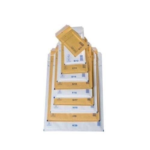 320x455mm fehér légpárnás boríték W9