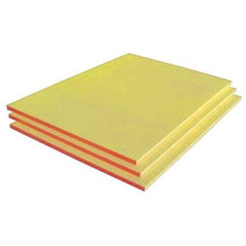 A4 kockás ragasztott sárga jegyzettömb