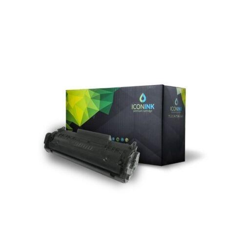 Iconink HP Q2612A Canon FX9  FX10  CRG-303  CRG-304 utángyártott 2000 oldal fekete toner