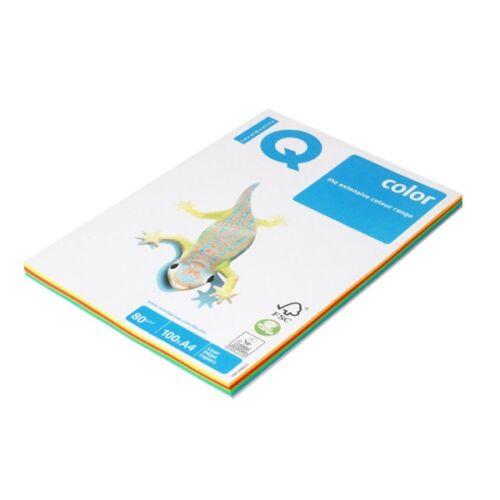 IQ Color A4 80g intenzív színű 4x25db másolópapír