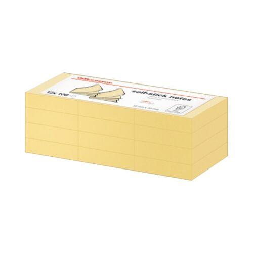 Office Depot 38x51mm öntapadós 12 tömbös jegyzettömb