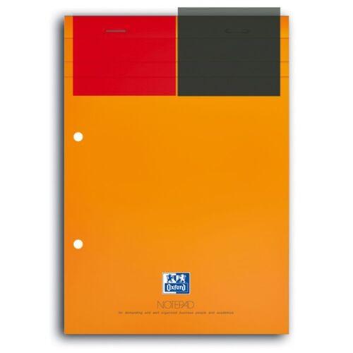 Oxford International Notepad A4+ kockás jegyzettömb