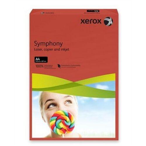 Xerox Symphony A4 80g intenzív vörös másolópapír