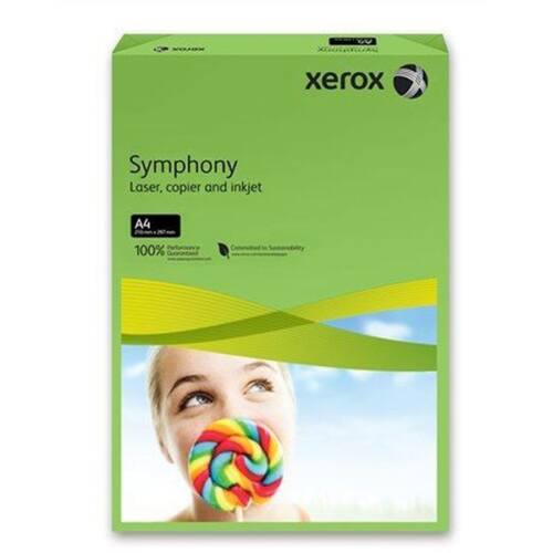 Xerox Symphony A4 80g intenzív zöld másolópapír