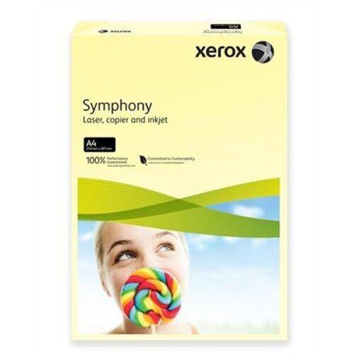 Xerox Symphony A4 80g pasztel citrom másolópapír