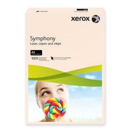 Xerox Symphony A4 160g pasztel lazac másolópapír