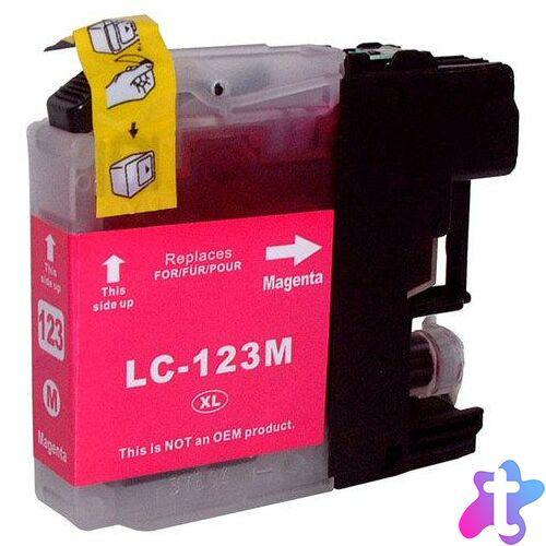 LC123M magenta utángyártott festékpatron, QP
