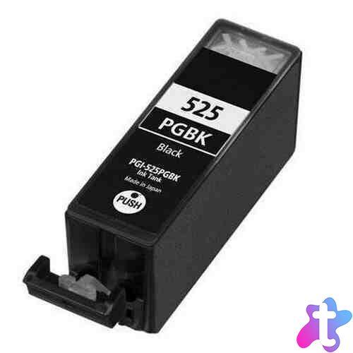 PGI-525Bk PGI525BK utángyártott festékpatron - EZ +chip IP4850 MG5150 MG5250 MG6150 MG8150 MG5350