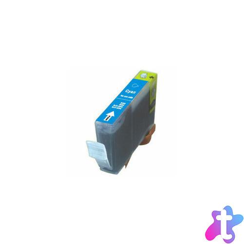 BCI-3   BCI-6   CLI-8 C cyan festékpatron, chip nélkül, utángyártott, EZ