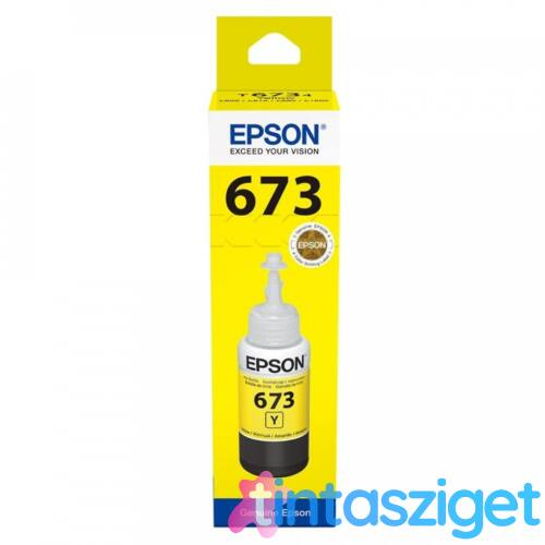 T6734 Y (C13T67344A) tinta, sárga, 70ml, eredeti