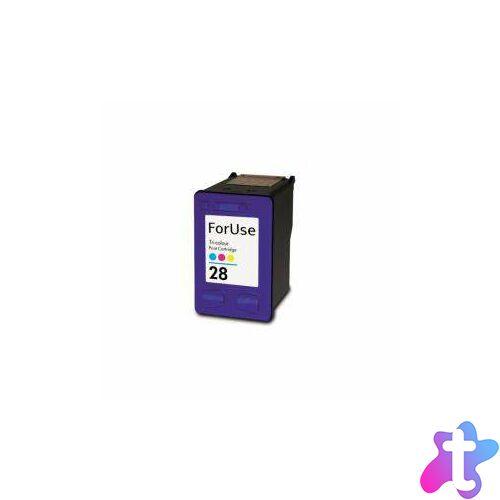 28 (C8728AE) Color festékpatron, utángyártott, színes, EZ/NN