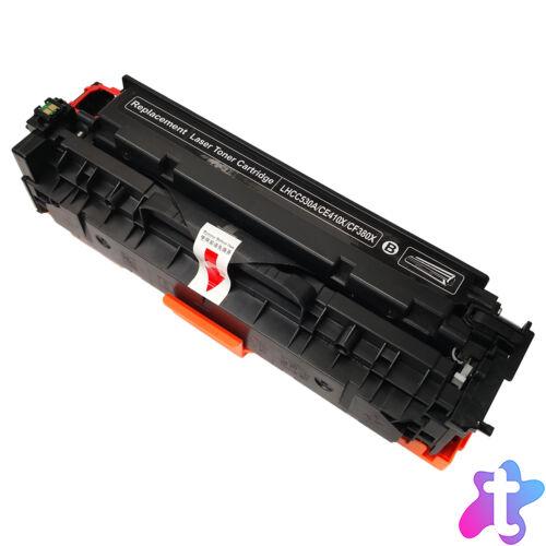305X (CE410X) / CC530A / CF380X Bk toner, utángyártott, fekete, 4.0k, GR