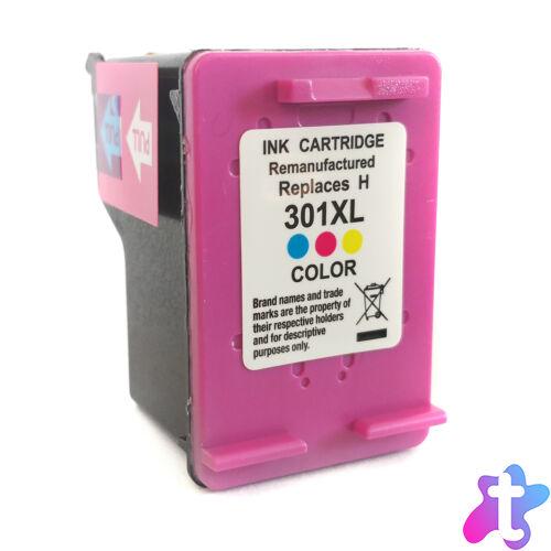 301XL (CH564EE) színes festékpatron, utángyártott, WB